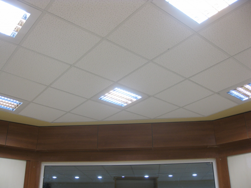 سقف کاذب مشبک کناف