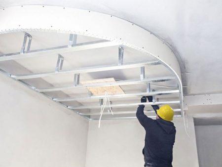 سقف کاذب یکپارچه (پانل)